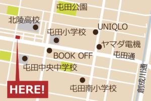 グリートホーム地図